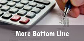 More Bottom Line through low, flexible pricing plans